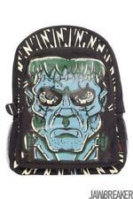 Frankenstein Monster Bag Backpack Black Highschool School College