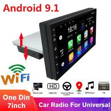 Android 9.1 Car Stereo Radio Multimedia Player Gps Navi Wifi Fm Obd Single Din