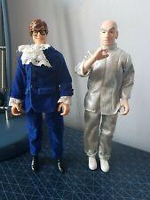"2 Trendmaster Austin Powers ""Austin Powers 10"" dr evil Action Figure"" used 1998"