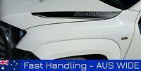 VW Volkswagen Amarok bonnet stripes kit decals stickers decal sticker stripe x2