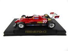Ferrari F126 C2 Villeneuve F1 1:43 - IXO Altaya DIECAST MODEL CAR KJ01