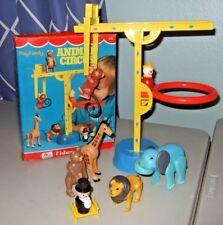 RARE 1973 Vintage Fisher Price Little People 135 Circus Ladder Animals BOX