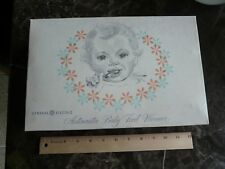 Vintage General Electric Automatic Baby Food Warmer 1960s