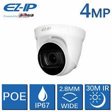 EZ-ip 4MP IP Cámara Domo CCTV HD PoE 2.8MM Ángulo Amplio 30M visión nocturna por Dahua