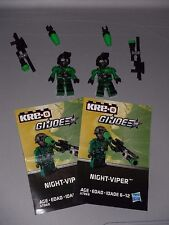 Kre-o GI Joe Cobra Night Viper complete sniper jungle complete
