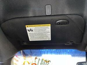 2013-2019 FORD TAURUS Left Driver Sun Visor Shade w/ Garage Door Buttons, BLACK