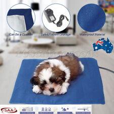 Pet Electric Heat Heated Heating Pad Mat Blanket Bed Dog Cat Bunny Waterproof AU