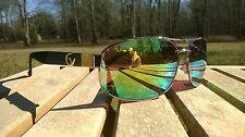 Mens Maxx HD Sunglasses gold vision 15 aviator womens gold mirrored