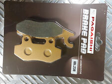 SEMI METAL FRONT BRAKE PADS FOR KEEWAY Superlight 125 07-12 F