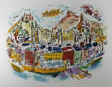 "Stunning Wayne Ensrud Original Lithograph ""The Royal Chateau"" Limited SIGNED COA"