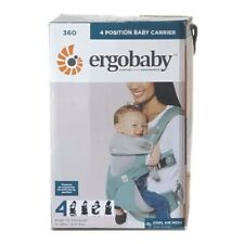 NEW ERGOBABY 360 4 Position COOL AIR MESH Ergo baby carrier. ICY MINT.