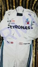 F1 Lewis Hamilton Mercedes-Benz New Style Printed Racing Suit Go Kart/karting .