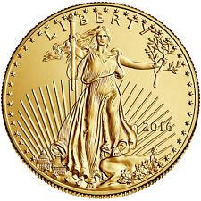 2016 - $5 1/10oz Gold American Eagle BU