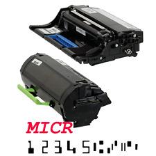 """MICR Toner Drum Cartridge"" for Lexmark MX511, MX611, MX610, MX510, MX410 Combo"