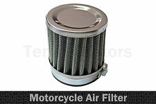 1 x Motorrad Chopper Luft Ansaug Filter Performance Chrom A1 50mm