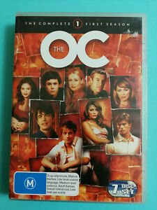 The OC DVD Complete First Season 7 Disc Set R4 Good Condition