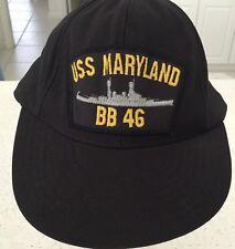 USS Maryland ball cap