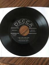 Red Foley Christmas 45 Vinyl Decca Label 1955 Frosty, Rudolph, Here Comes Santa
