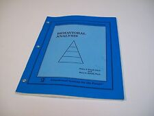 Peter J. Esseff Ph.D. Behavioral Analysis Development Learning System Book