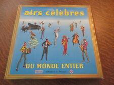 coffret 10 33 tours airs celebres du monde entier selection du disque