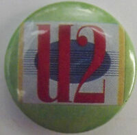 U2 Old Vtg 1980`s Button Pin Badge 25mm(NOT shirt patch lp cd)