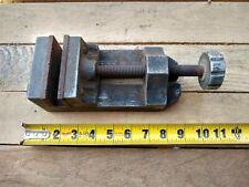 Vintage Aluminum Drill Press Vise Machinist Clamp