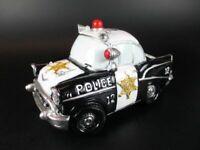 Polizei Police Auto USA Spardose Sparschwein ,Money Bank aus Poly ,NEU