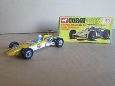 1991 6/12ft Vintage Corgi Toys 159 England Cooper Maserati F1 3+ Box
