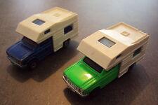 1/60ème MAJORETTE - Lot de 2 camping car