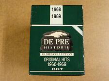 10-CD BOX DE PRE HISTORIE OLDIES COLLECTION ORIGINAL HITS 1960 - 1969