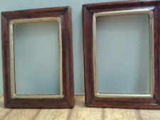 Dolls House Miniatures 1:12 Scale 2 wooden empty picture frames D1956 *