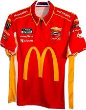 LG Nascar Cup Series Larson Kenseth McDonald's Pit Crew Shirt Sparco Racing