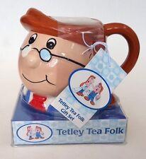 Tetley Tea Folk Mug Gift Set New Boxed