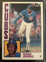 1984 Topps #483 FERGIE JENKINS Chicago Cubs HOF ~ CENTERED ~ NM-MINT