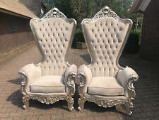Two Wonderful Handmade Baroque Chairs