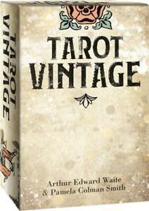 Tarot Vintage Cards by Arthur Edward Waite & Pamela Colman Smith 9788865277089