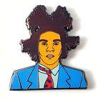 Jean-Michel Basquiat Enamel Pin ~ Street Art ~ 1970's Lower East Side NYC Artist