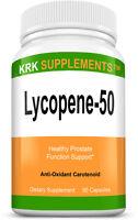 Lycopene 50mg Prostate Support Antioxidant Carotenoids