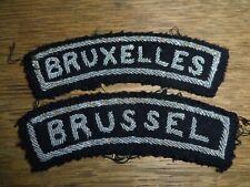 Insignes d'épaule Bruxelles - Brussel  (police ?)
