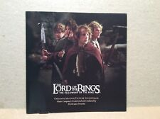 Lord Of The Rings-The Fellowship Of The Ring Motion Picture Soundtrack(CD)