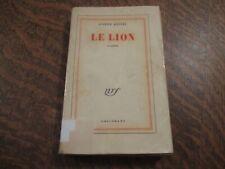 TRES RARE le lion - JOSEPH KESSEL (1958)