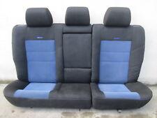 RECARO Sport-Rückbank Golf 4 Ausstattung Bank Rücksitz hinten blau schwarz