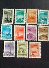 Hungary stamps 1966/68 cities and airplanes