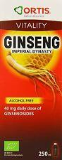 Ortisan Orgánico Ginseng y Jalea Real 250 ml