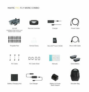 DJI Mavic Pro More Deluxe Bundle 12MP-4K Camera charger