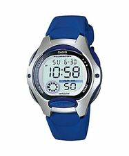 CASIO ILLUMINATOR Digital BLUE LADIES SPORTS WATCH LW-200-2AVDF