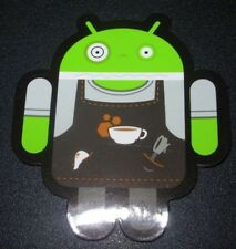 "ANDROID DROID Barista robot logo Sticker 2.5"" Google andrew bell"