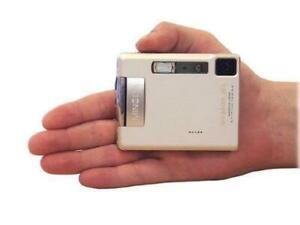 Konica Minolta DiMAGE Xt Biz Micro Digital Camera Silver Battery &  NEW Charger