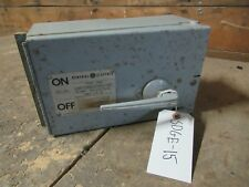 GENERAL ELECTRIC DISCONNECT THFP361L 600V 3 PHASE 30A TYPE 1 20HP **WARRANTY**