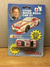NIP Racing Champions Citgo Wood Bros Car 21 Stock Car